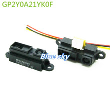 1PCS/LOT GP2Y0A21YK0F 100% NEW 2Y0A21 10-80cm Infrared distance sensor (INCLUDING WIRES ) FREE SHIPPING