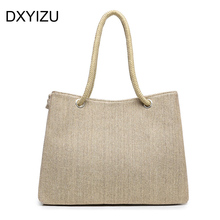 Summer style Beach Bag capazos de playa jute beach baskets bags for women messenger bags best handbag brand famous tote bag new