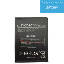 2500mAh 100% New Battery BP-5X-I For Highscreen Boost 2 II SE Bateria Batterie Baterij Cell Mobile Phone Batteries