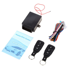 Universal Car Alarm Systems Remote Central Kit Door Locking Car Auto Keyless Entry System with Remote Control For Audi/Toyota(China)