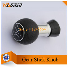 CNWAGNER 13mm 5 Speed Gear Leather Shift Knob  for Audi A3 8L 01-03