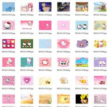 Notebook laptop case film 10 14 15.6  inch computer sticker outside protective cover ipad  skin Decal hello kitty kt pink gift