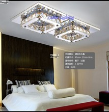Free Shipping Fashion LED K9 Crystal Ceiling Designs Chandelier Lamps / Lights / Lighting Fixtures (Model:CZ009/2)