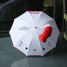 Creative lovely Cartoon Children Anime Umbrella for kids girl cute umbrella baby white umbrella