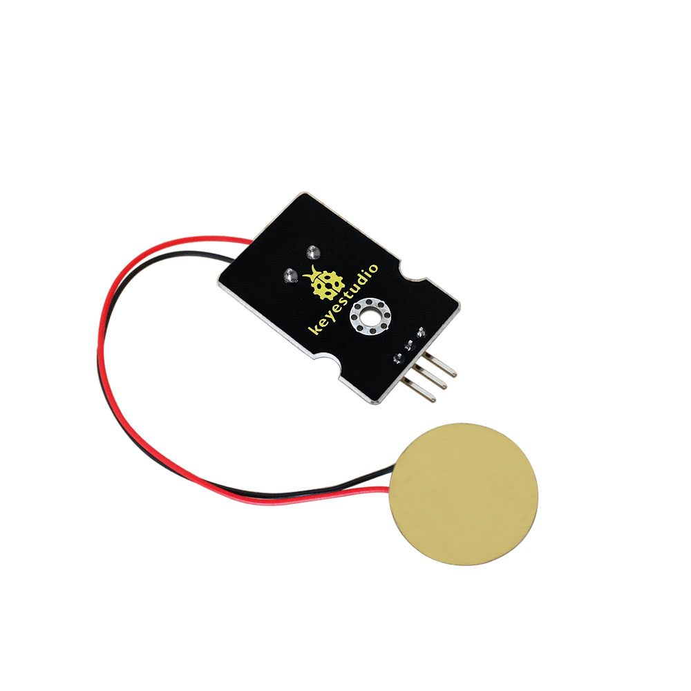 Analog Ceramic Piezo Vibration Sensor Module for Arduino UNO Rev3 Micro-Control