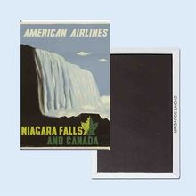 American Airlines Niagra Falls and Canada advertising posters 24062 Retro nostalgic fridge magnets(Hong Kong)