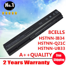 Wholesale New 8 cells laptop battery FOR  HP Pavilion dv9000 ~~9900 Series EX942AA  HSTNN-Q21C EV087AA HSTNN-IB34  free shipping