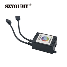 SZYOUMY Two Ports Bluetooth LED RGB Controller Music / Sound APP Control LED Strip light Compatible with IOS 6.0 & Android(China)