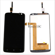Free shipping Good quality For Lenovo S820 LCD Display+Digitizer Touch screen assembly Replacement free tools
