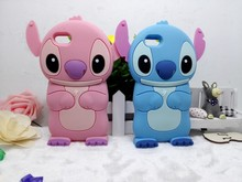 3D Cartoon Stitch Simple Soft Silicon Cover Phone Case For iPhone 4 5 6 4g 5g 6G 4S 5S 5SE 6S Plus SE For ipod touch 5 6