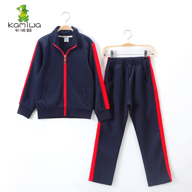 2017 autumn Baby Girls Clothes Jacket Kids top+Pants Kids Tracksuit For Girls Clothing Sets Girls Sport Suit  boy sport sets<br>