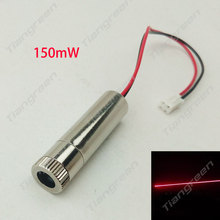 Focusable 650nm 100mW~150mW Red Dot Laser Module Diode DIY Stage Lighting