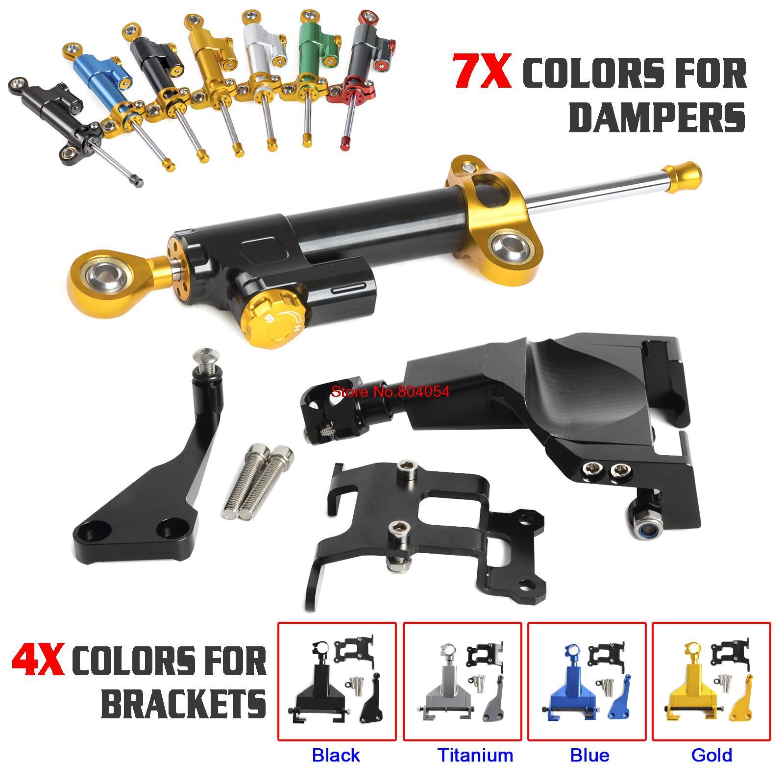 Motorcycle Stablizer Steering Damper Mounting Bracket Kit For Yamaha MT-07 MT07 MOTO CAGE 2014 2015 2016<br><br>Aliexpress