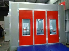 Chinese Cheap Car Paint Room Baking Spray Booth With Diesel oil heat and electric heat optional