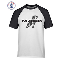 2017 Designs Mack Truck Natural Cotton Funny Hip Hop Printed Funny T Shirt for men