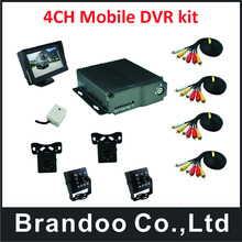 4CH D1 realtime truck DVR kit from original manufactuer(China)