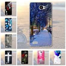 Fundas Phone Case Cover For LG Bello II 2 / Prime II / LG Max X155 Soft TPU Silicon Animals Scenery Phone Bags for LG Prime II