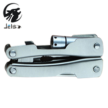 Jeblo Pliers With LED Lamp Kinfe Screwdriver Multitool Pliers Hand Tools Multi tool Long Nose Pliers Bottle Opener Saw