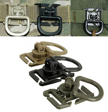 swivel D ring clip molle webbing clamp tactical backpack attach strap hang camp outdoor hike bushcraft mountain climb