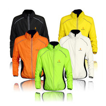 NEW Top Quality Men's Windproof Cycling Jacket MTB Bike Bicycle Clothing Sportswear Coat Soft Long Sleeve Wind Jackets Wholesale(China)