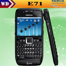 Original Nokia E71 QWERTY Keyboard 3.15MP Wi-Fi Symbian OS FM radio cell phone refurbished(China)