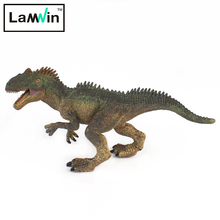 Lamwin Small Size Allosaurus Model Action Figure Jurassic Realistic Dinosaur Plastic Toys Animals