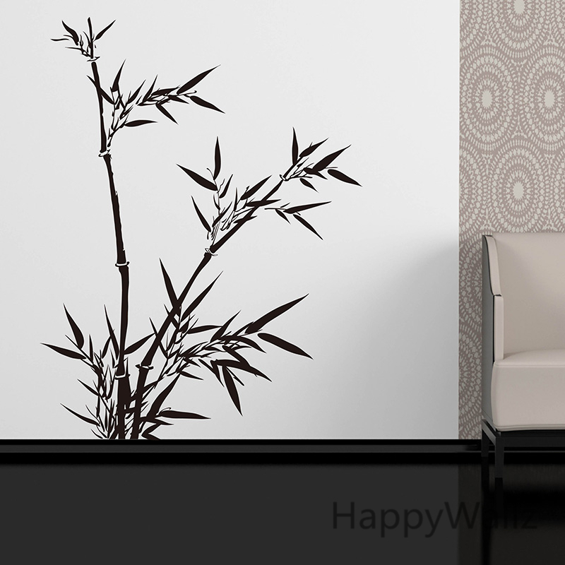 Bamboo Wall Sticker Chinese Style Bamboo Wall Decal DIY Removable Wall Decoration Chinese Bamboo Wallpaper T10(China (Mainland))