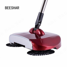 Hand Push Broom Dustpan Machine Household Cleaners Electric Sweeper Magic Broom Automatic Household Cleaners Clean The Machine