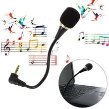Portable Mini Microphone Wired 3.5mm Flexible Microphone microfono microfone mikrofon for Skype MSN Chat Gaming PC Laptop