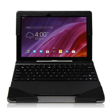 "Resale TF103 Keyboard Case For ASUS Transformer Pad TF103C 10.1"" Tab Cover Case +screen protectors"