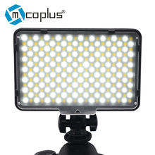 Mcoplus MCO-260B LED Video Light Lamp Temperature Adjustment DV Camcorder & Canon Nikon Sony Pentax Digital SLR Camera - Venidice Photography Store store