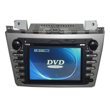 Bonroad 7' Car DVD for Mazda 6 Silver Panel GPS Navigation Touch Screen Radio RDS Audio Video Bluetooth Ipod Mmultimedia Player
