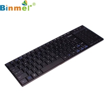 Binmer New Mecall Details about Bluetooth 3.0 Ultra Slim Mini Keyboard Touch Pad Mouse for iOS Windows Android