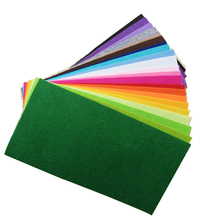 2mm Thick Non Woven Felt Fabric 15X30cm DIY Handmade Sewing Patchwork Craft Material 23 Color Wool Feltro diy craft Tissu Telas(China)