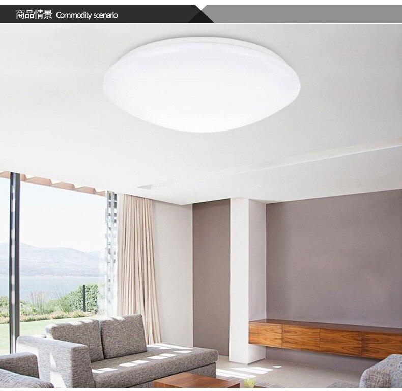 LED Ceiling light 23W Dia 35CM kids ceiling flush retro acrylic kitchen modern livingroom Bedroom abajur Free Shipping<br>