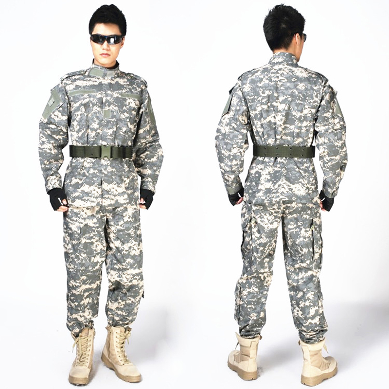 2016 Hot Sale Military Army Combat Uniform Hunting Shooting Paintball Tactical Uniform CS Camouflage Suits <br>