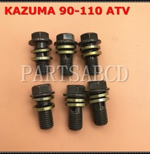 KAZUMA 50CC 90CC 110CC 250CC ATV Quad Banjo Screw with Washers for all Fluid Hoses M10(China)