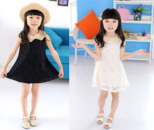 Hot Sale 2013 Summer New Children Clothing Baby Girls Clothes Girl Dress Kids Tutu Dress child Children Dress(China)