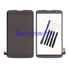 Black Full LCD DIsplay + Touch Screen Digitizer Assembly  For LG K7 Tribute 5 LS675 MS330 K330 Sprint Boost Mobile +Tools