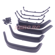 1/10 Scale Rc Car Body Plastic Fender Flares For 1:10 JK JEEP Wrangler Body Shell(China)