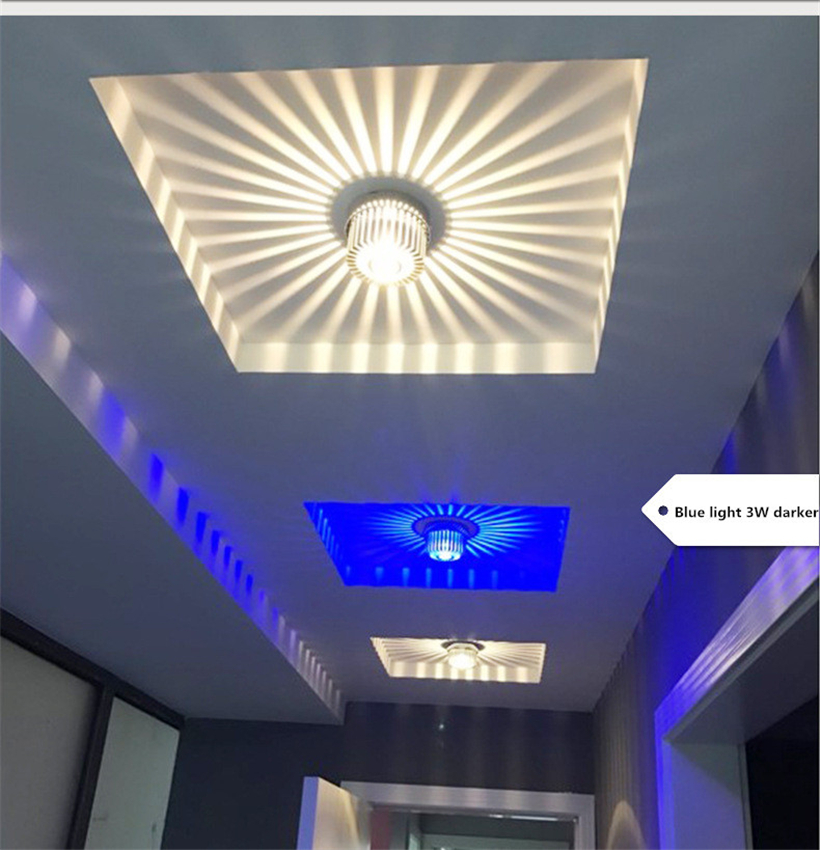 LED Crystal Aisle Celling Light (1)