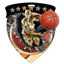 Low price basketball medals big discount custom sports 3D medals wholesale metal 3d medal hot sales custom made sports medals