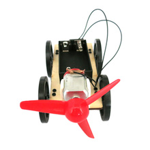 3pcs Self assembly Innovative Assembly DIY Wooden Car Model Children Educational Toy Gift Brand(China)