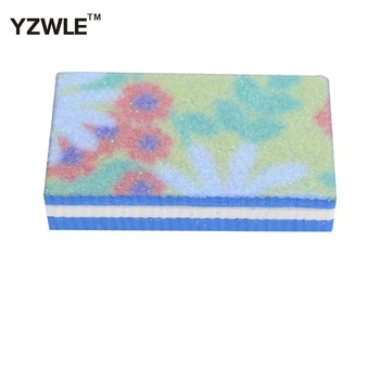 YZWLE 1 Piece Double Side Nail Art Buffer File Block Pedicure Manicure Buffing Sanding Polish Makeup Beauty Tools