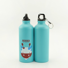 2016 New In 500ml Lovely Animals Outdoor Portable Outdoor Sports Cycling Camping Bicycle Aluminum Alloy School kids Water Bottle