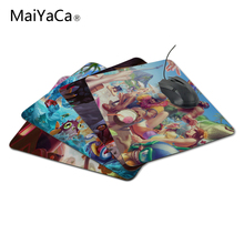 MaiYaCaArrival Customized League of Legends Family Design Game Gaming Durable PC Anti-slip Mouse Mat for Optical/Trackball Mouse