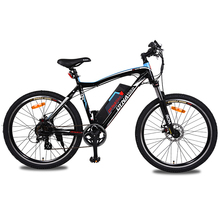 Electric mountain bike 26-inch luxury range 45 km 36v lithium battery electric bicycle fitness bike LCD clear data ebike(China)