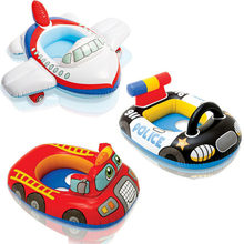 Children Swimming Ring PVC Children Inflatable Swimming Ring Reinforcement Pressure Baby Inflatable Car Seat Ring(China)