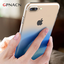 Buy Phone Case iPhone 7 7 plus Capinhas Gradient Color Ultra Thin Slim TPU Back Cover Case iPhone 6 6s 5 5S SE Shell Coque for $1.12 in AliExpress store