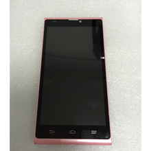 For ZTE Blade L2 Pink LCD Display Panel Monitor + Touch Screen Digitizer Glass Sensor Assembly + Frame Bezel Housing
